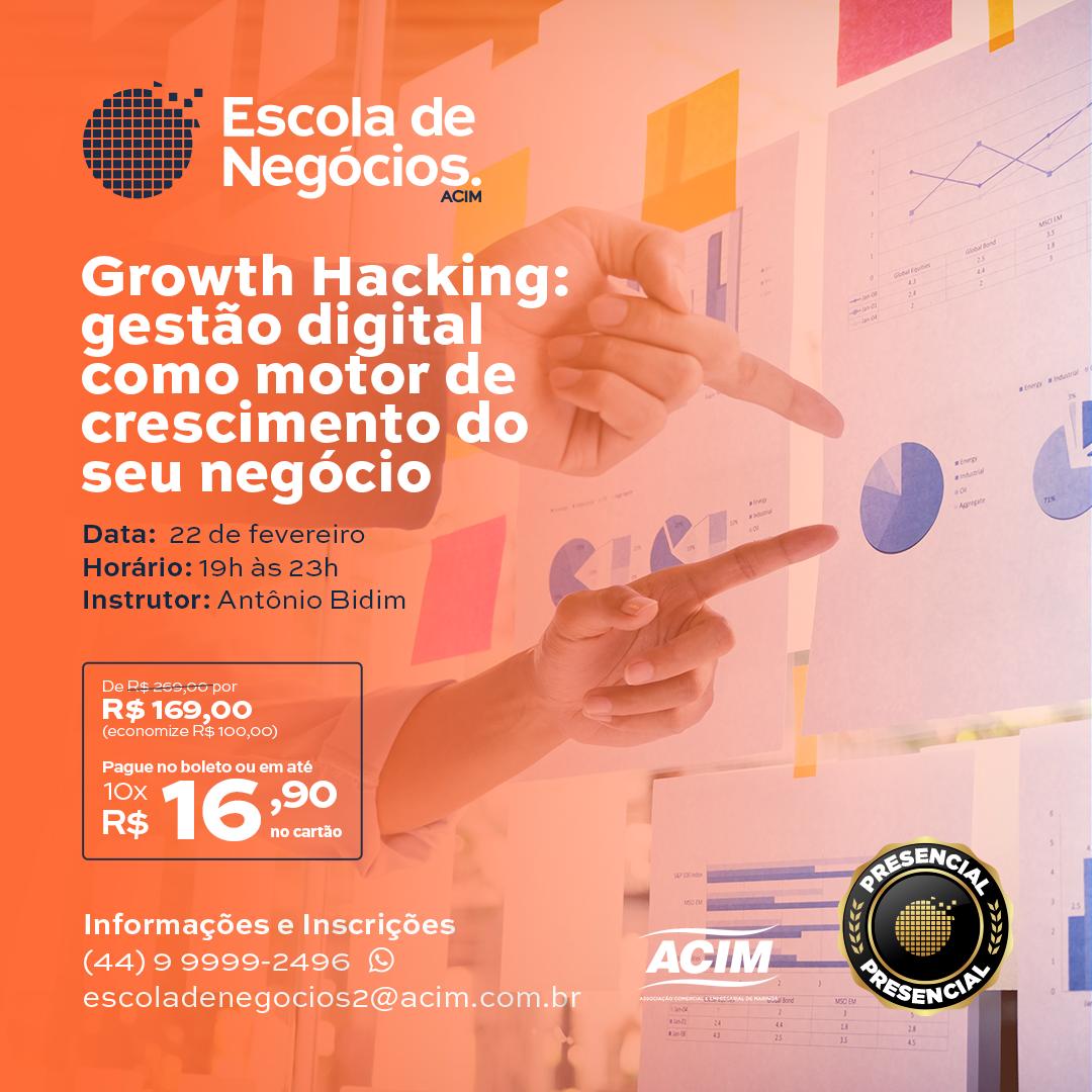 Growth Hacking: Gestão digital como motor de crescimento do seu negócio